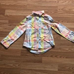 Pastel checked button down.